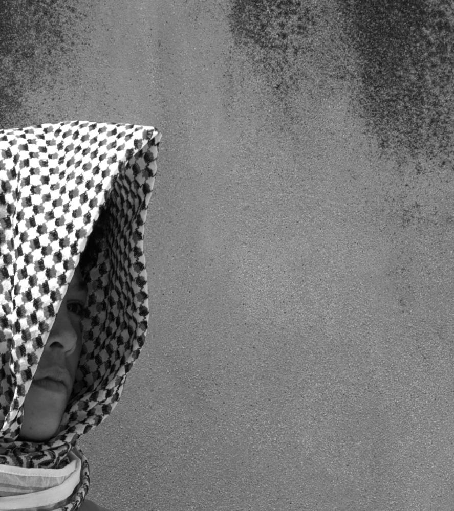 'Keffiyeh' by Nizar M. Halloun  © Attribution Non-commercial Share Alike