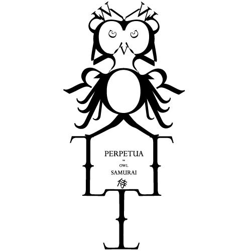 'Perpetua the Owl Samurai' by Nizar M. Halloun  © Attribution Non-commercial Share Alike