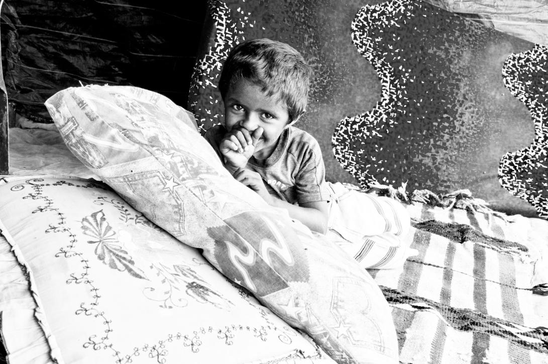 'Kid' by Nizar M. Halloun © Attribution Non-commercial Share Alike