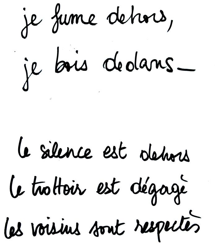 """L'Inévitable, Café, Jussieu""  by Nizar M. Halloun © Attribution Non-commercial Share Alike"