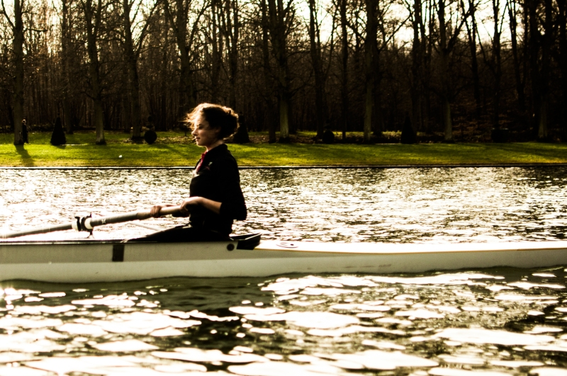 'Rower' Versailles by Nizar M. Halloun © Attribution Non commercial Share Alike