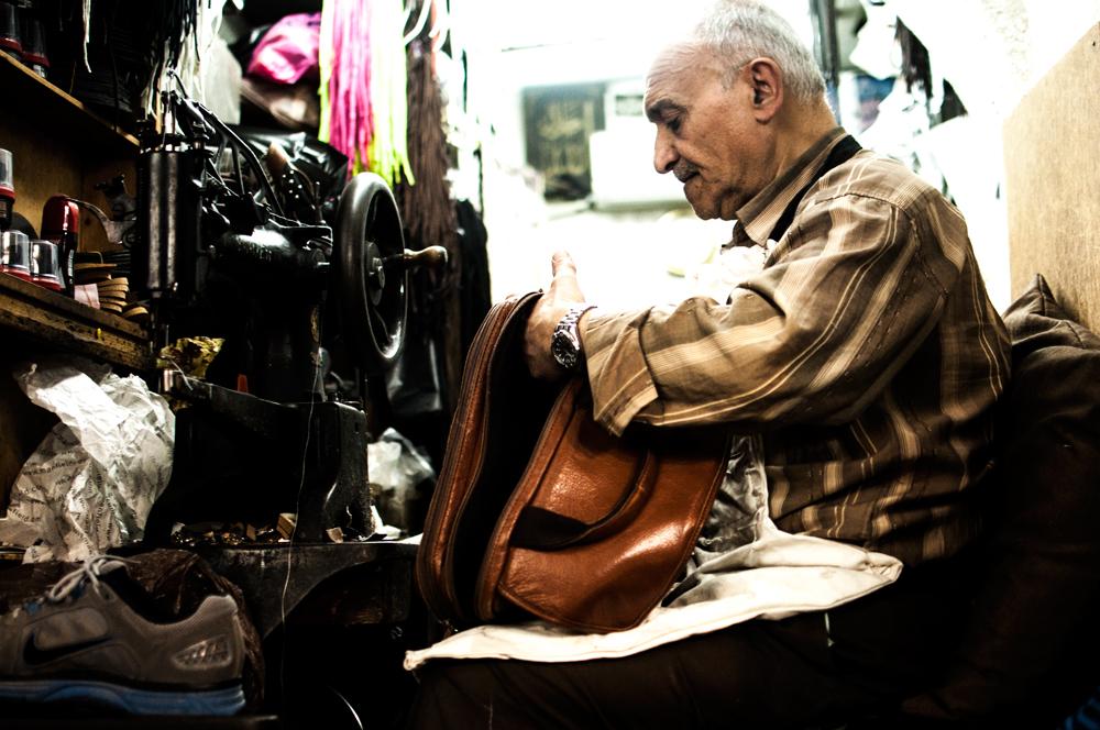'Jerusalem's Tailor' by Nizar M. Halloun © Attribution Non commercial Share Alike