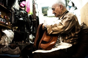 'Jerusalem's Tailor' by Nizar M. Halloun © Attribution Non commercial Share Alike