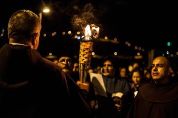 Candlelight procession © 2015 Nizar M. Halloun